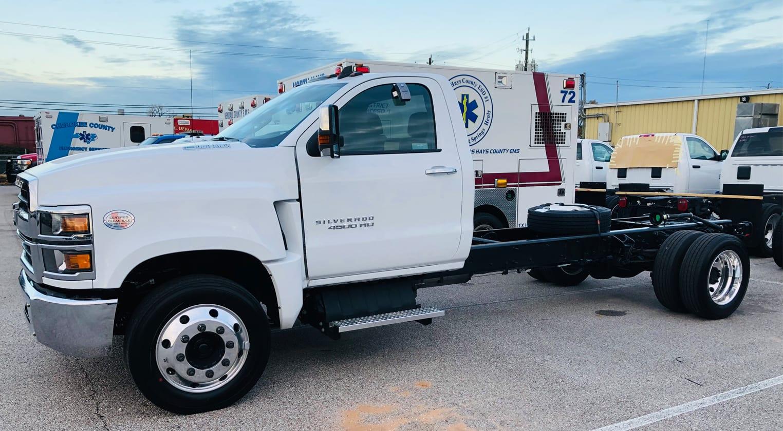 10.Chevrh4500HD.Ambulance.Truck.Chassis