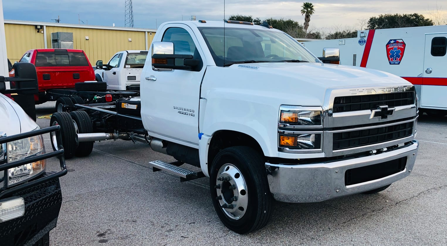 The 2019 Chevy Silverado 4500HD Chassis Cab is here ...