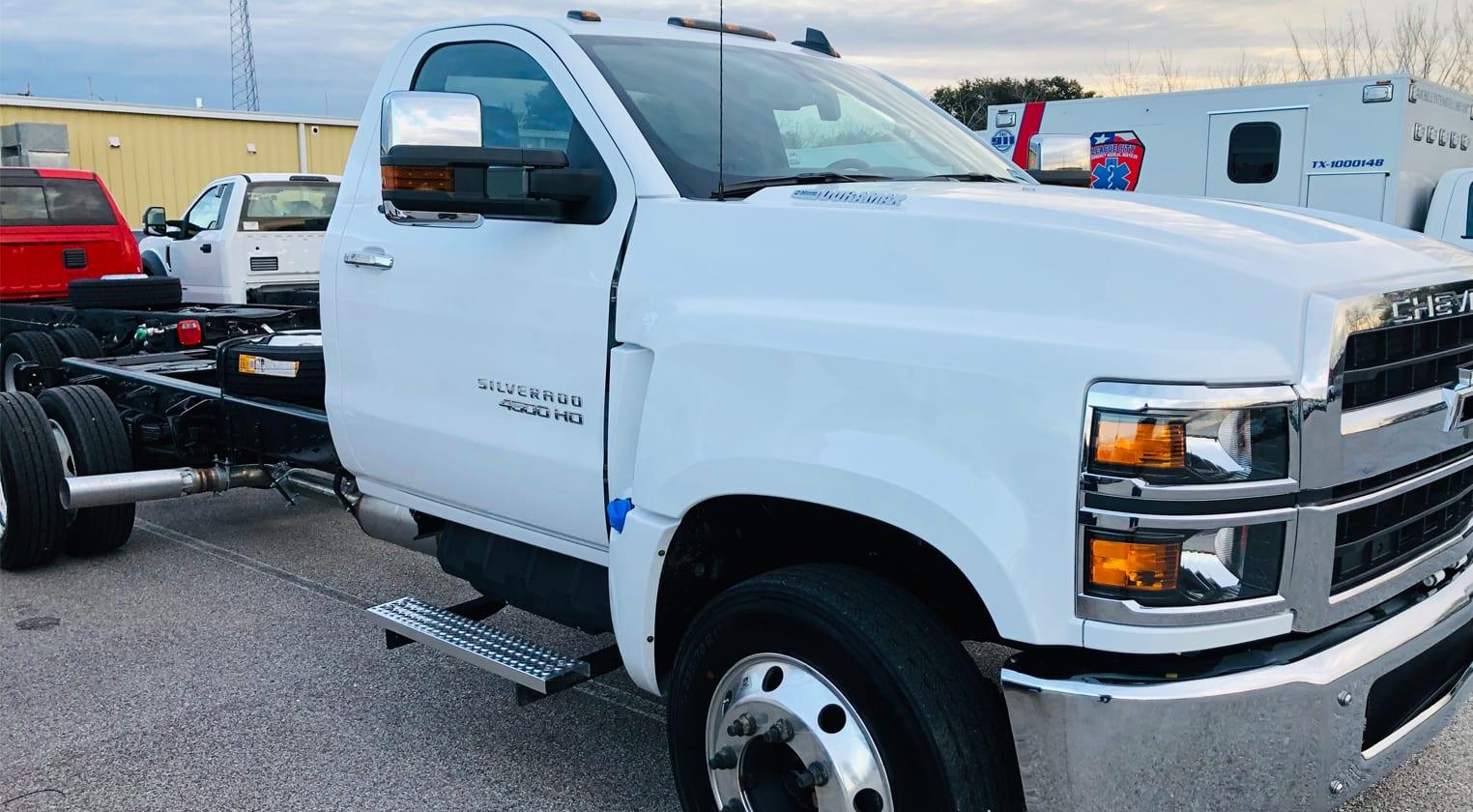 2Chevy4500HD.Ambulance.Truck.Chassis