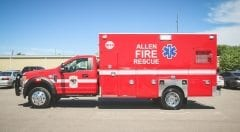 Allen Fire Rescue EMS Vehicle