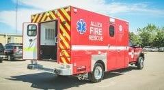 Allen Fire Rescue EMS Vehicle