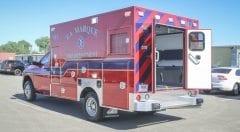 La Marque Fire Department EMS Vehicle
