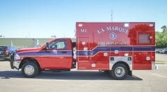 La Marque Fire Department EMS Vehicle