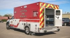 Little Elm Fire Department EMS Vehicle