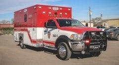 Little Elm Fire Department EMS Vehicle