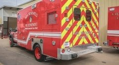 New Braunfels Fire Department EMS Vehicle