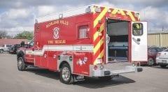 Richland Hills Fire Department EMS Vehicle
