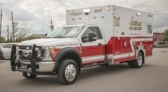 Southlake Fire Department EMS Vehicle