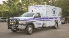 Walsh Ambulance Service EMS Vehicle