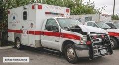 Austin County EMS Vehicle
