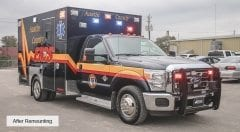 Austin County EMS Vehicle
