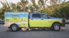 Austin Travis County EMS Vehicle