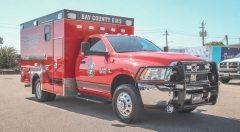 Bay County EMS Custom Ambulance