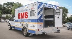 Baylor Scott White EMS Vehicle