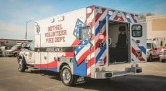Bethel Volunteer Fire Department EMS Vehicle