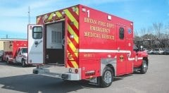 EMS Vehicles Bryan Fire
