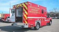 EMS Vehicles Bryan Fire