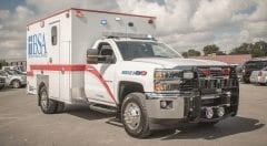 BSA Health System EMS Vehicle