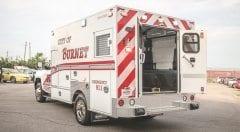 Burnet Fire Department EMS Vehicle