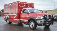 Carrollton Fire Rescue EMS Vehicle