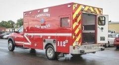Carrollton Fire Rescue EMS Vehicle