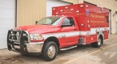 City of Liberty Fire Department EMS Vehicle