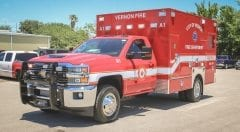 City of Vernon Fire Department EMS Vehicle