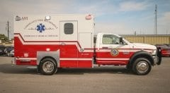 Community Volunteer Fire Department EMS Vehicle