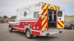 Community Volunteer Fire Department EMS Vehicle