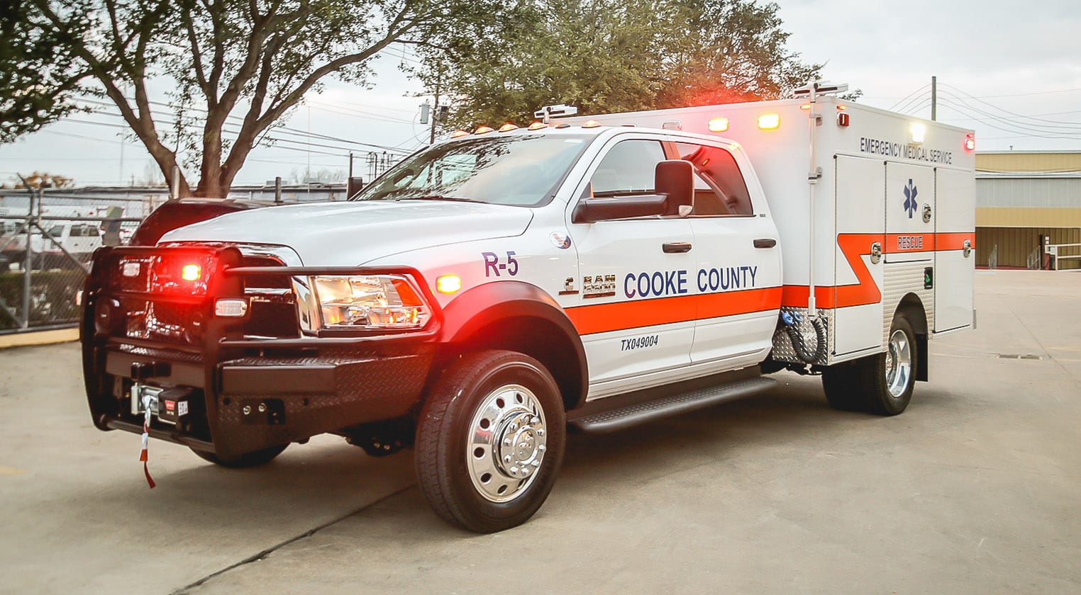 Customer Delivery - Cooke County EMS - Frazer, Ltd