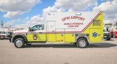 Custom Ambulance Dallas Fort Worth Texas