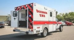 Dickinson EMS Vehicle