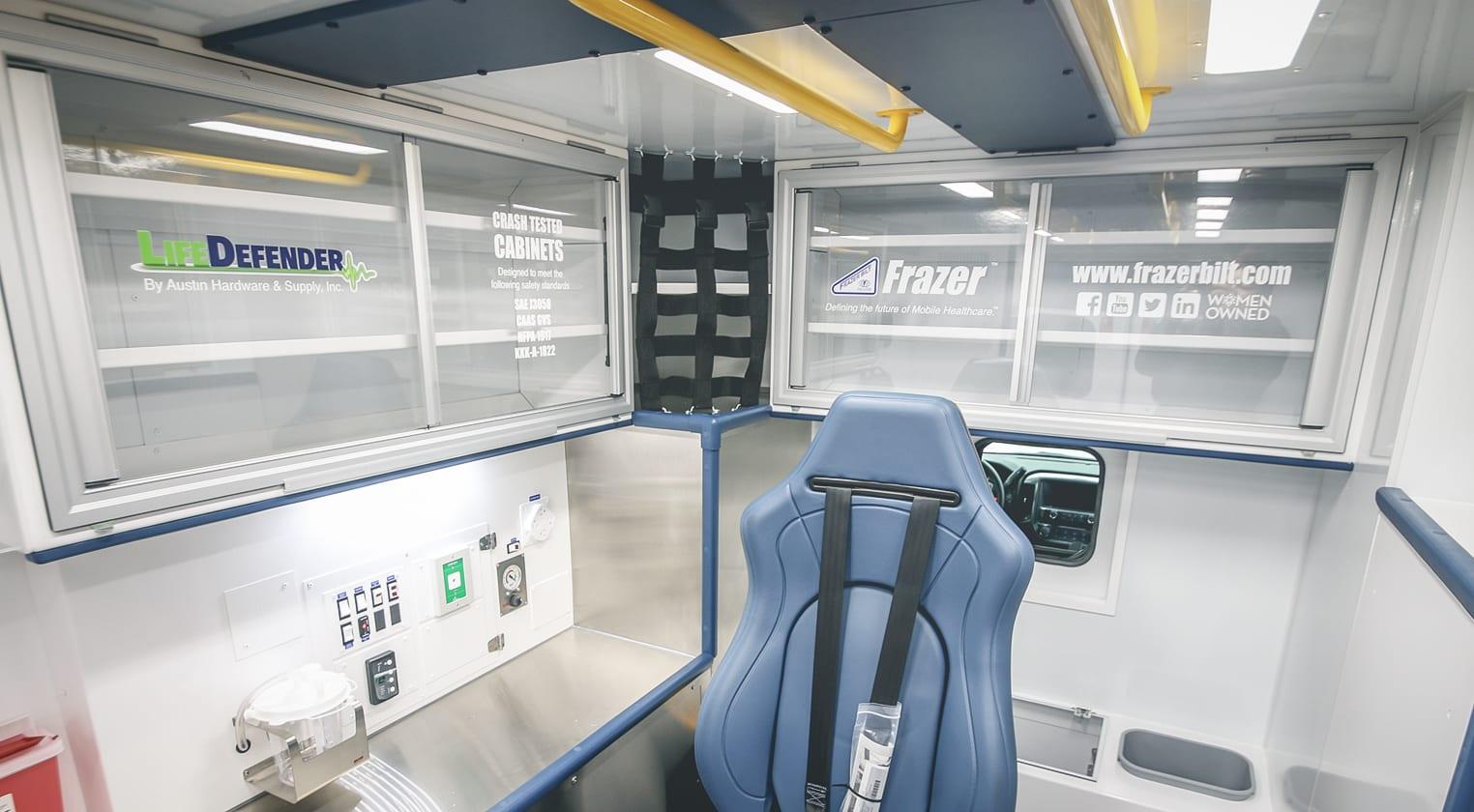 New Custom Emergency Vehicle – Frazer Stock Unit