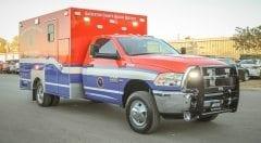 Galveston County Health District EMS Vehicle