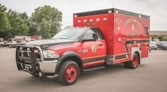 Glynn County EMS Vehicle