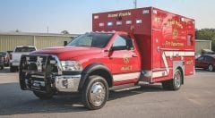 Grand Prairie Fire Department EMS Vehicle