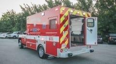 Houston Fire Department Ambulance