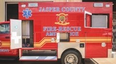 Jasper County Fire & Rescue EMS Vehicle