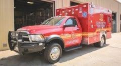 Jasper County Fire & Rescue EMS Vehicle