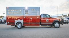 Custom Texas Ambulance