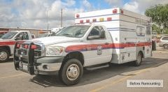 Liberty County EMS Vehicle