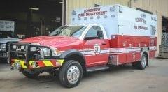 Longview Fire Department EMS Vehicle