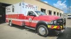 Longview Fire Department EMS Vehicle