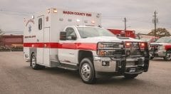 Custom Emergency Vehicle Mason County