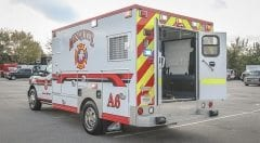 Mesquite Fire Department EMS Vehicle