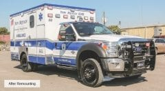 New Britain EMS Vehicle