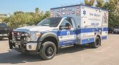 New Britain EMS Vehicle