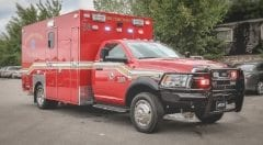 Richardson Fire Department EMS Vehicle