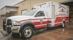 San Antonio 2017 EMS Vehicle