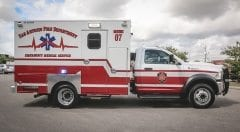 San Antonio Fire Department EMS Vehicle